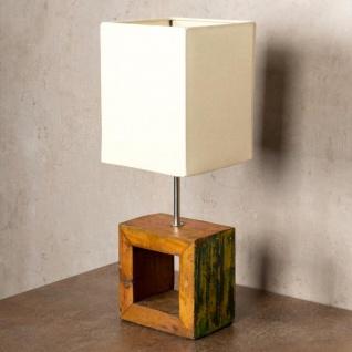 Tischlampe 16 x 45 x 16 cm Treibholz Tischleuchte Holz Lampe Teakholz Deko - Vorschau 2