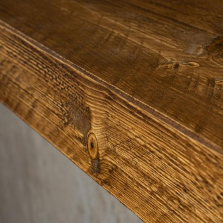 levandeo Wandregal Holz Massiv 100x20cm Nussbaum Farbig Wandboard Regal Vintage - Vorschau 5