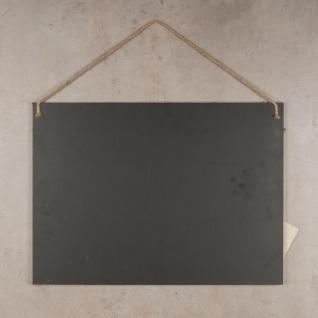 Rechteckige Memotafel 50x40cm Kreide-Tafel Holz Vintage Shabby Chic - Vorschau 5