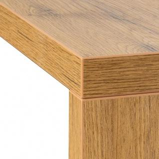 levandeo Couchtisch Coco Holz 32x32x50cm Wildeiche Tisch Beistelltisch Deko - Vorschau 5