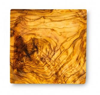 Holzschale Olivenholz ca. 12x12cm Schale Holz Dekoschale Natur Unikat Tischdeko - Vorschau 3