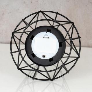 levandeo Tischlampe Metall Schwarz LED 17x24cm Lampe Standleuchte Leuchte Deko - Vorschau 5