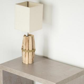 Tischlampe 17x50x17cm Treibholz Tischleuchte Unikat Holz Lampe Licht - Vorschau 4
