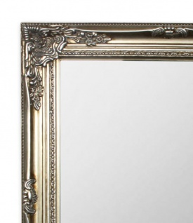 Spiegel Wandspiegel Flurspiegel Silber Holz Vintage Barock shabby - Vorschau 2