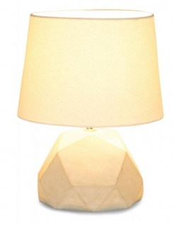 Tischlampe Beton Tischleuchte Leuchte Lampe Grau Design Industrial Industriell