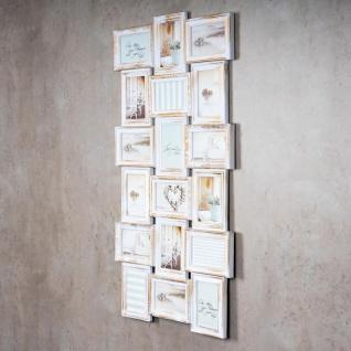 Bilderrahmen weiß gold gewischt 18 Fotos Barock antik Collage Galerie - Vorschau 3