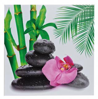 2er set wandbilder orchideen bambus feng shui wellness leinwand bild kaufen bei living by design. Black Bedroom Furniture Sets. Home Design Ideas