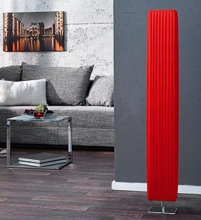 Stehleuchte / Stehlampe in rot 15x15cm Höhe: 120cm Standlampe Lampe