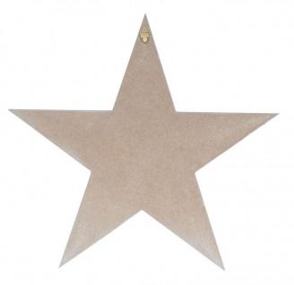 Holzschild 2er Set Sterne Grau Weiß 30x30cm Sprüche Holzbild Wandobjekt Deko - Vorschau 5