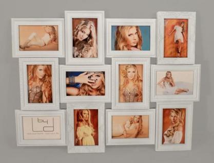 Bilderrahmen weiß 12 Bilder Barock antik Fotorahmen Collage Galerie