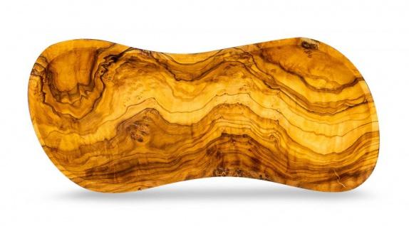 Schale Holz Olivenholz ca. 23x10cm Holzschale Dekoschale Natur Unikat Tischdeko