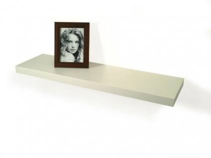 Wandboard Bobby 80cm weiß - Wandregal Regal Board Bord Wandbord