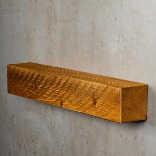 levandeo Wandregal Holz Massiv 60x10cm Teak Farbig Wandboard Regal Vintage Bord - Vorschau 4