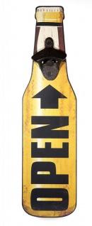 Flaschenöffner aus Holz Wanddekoration Open Wandflaschenöffner Vintage