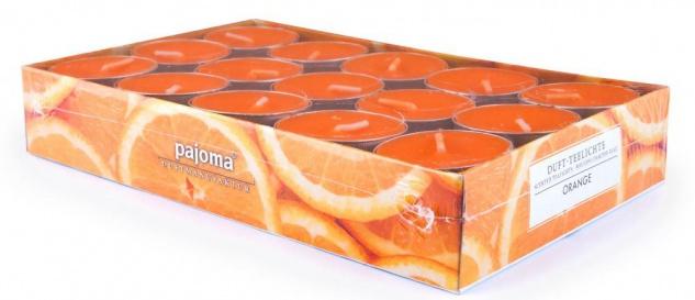 120 Kerzen 4x30 Wildkirsche Vanille Lemongras Orange Duftkerzen Kerze Teelicht - Vorschau 5
