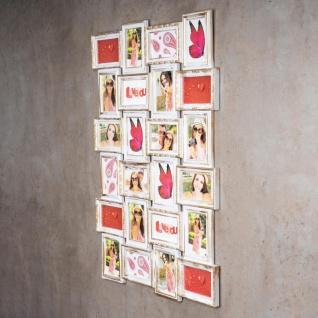 Bilderrahmen weiß gold 24 Fotos Barock Fotorahmen Collage Galerie - Vorschau 2