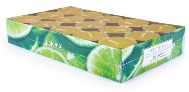 120 Kerzen 4x30 Wildkirsche Vanille Lemongras Orange Duftkerzen Kerze Teelicht - Vorschau 2