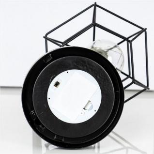 levandeo Tischlampe Metall Schwarz LED 33cm Hoch Lampe Standleuchte Leuchte Deko - Vorschau 5