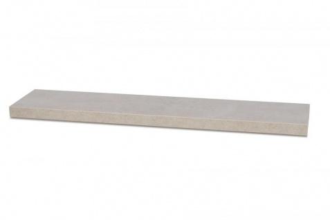 Wandboard Bobby 100cm Betonoptik Grau Wandregal Regal Board Bücherbord