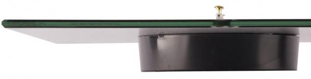 levandeo Wanduhr Glas 30x30cm Glasuhr Uhr Glasbild Bath Bad Maritim Blau Boot - Vorschau 3