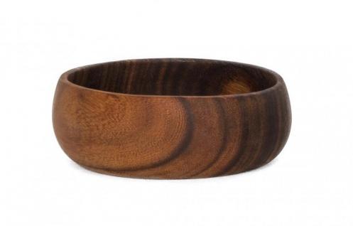 Holzschale Akazie 15cm rund Holz Schale Obstschale Salatschüssel