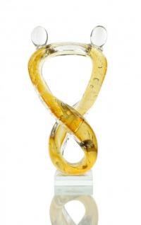 Designer Skulptur groß Glas Design Glasskulptur Hochwertiges Unikat