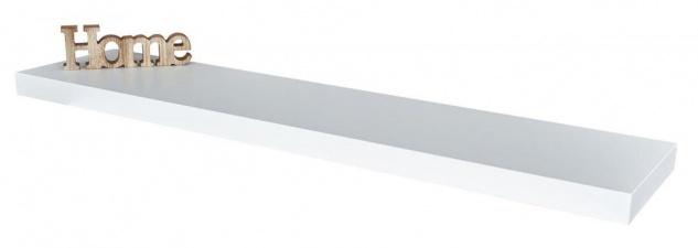Wandboard Bobby 100cm weiß Wandregal Regal Board Bord Wandbord - Vorschau 2