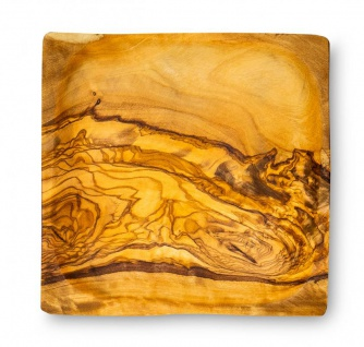 Holzschale Olivenholz ca. 12x12cm Schale Holz Dekoschale Natur Unikat Tischdeko