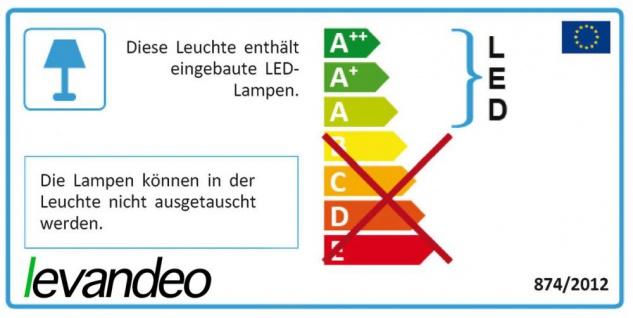 levandeo Lightbox 30x22cm LED Leuchttafel Leuchtreklame Buchstaben Memo Deko - Vorschau 5