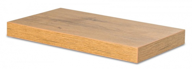 levandeo Wandboard Bobby 40cm Wildeiche Eiche Wandregal Regal Board Bücherbord