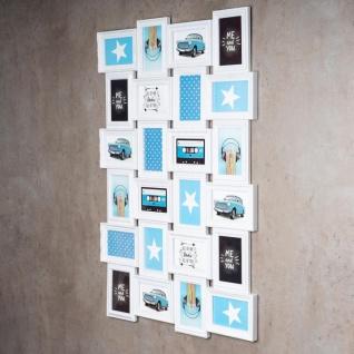 Bilderrahmen in weiß 24 Fotos Barock antik Fotorahmen Collage Galerie - Vorschau 2