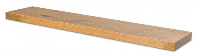 levandeo Wandboard Bobby 100cm Wildeiche Eiche Wandregal Regal Board Bücherbord