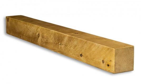 levandeo Wandregal Holz Massiv 100x10cm Eiche Farbig Wandboard Regal Vintage - Vorschau 2