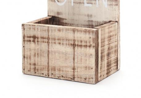XXL Flaschenöffner für Wand aus Holz mit Spruch Bar Deko Wandobjekt - Vorschau 3