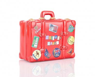 Spardose Sparbüchse Sparkoffer Koffer Sparschwein Urlaubskasse Urlaub