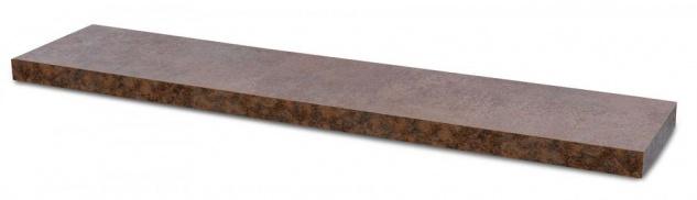 levandeo Wandboard Bobby 100cm Rostoptik Rost Wandregal Regal Board Bücherbord - Vorschau 2
