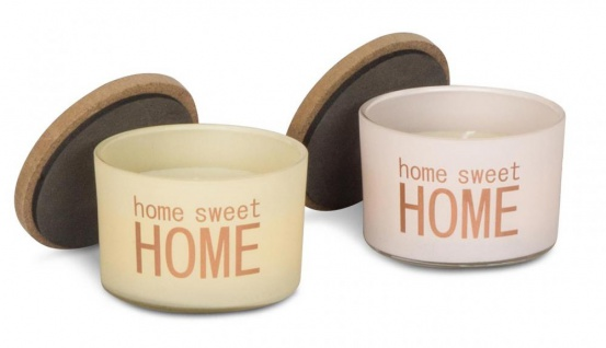 Duftkerzen 4 Stück Rose Cotton Melon Jasmin Holzdeckel Home Kerze Glas - Vorschau 4