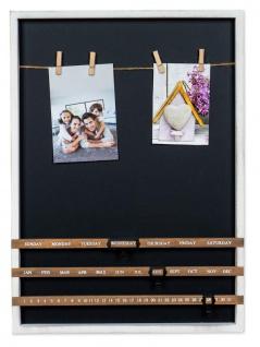 Bilderrahmen Kalender Fotos Klammern Holz Collage Fotorahmen Wanddeko