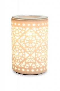 Elektrische Duftlampe Tischlampe Aromalampe Duftöl Licht Porzellan