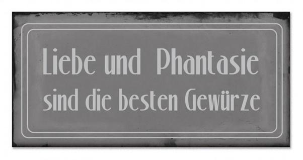 Blech-Schilder 3er Set je 18, 5 x 9 cm Sterneküche Metall Schild Wanddekoration - Vorschau 4