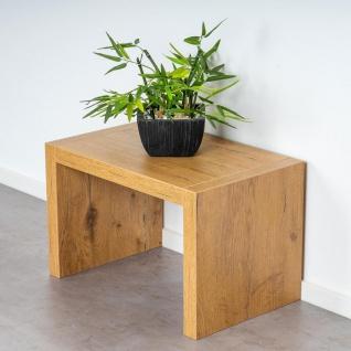 levandeo Couchtisch Coco Holz 32x32x50cm Wildeiche Tisch Beistelltisch Deko - Vorschau 4