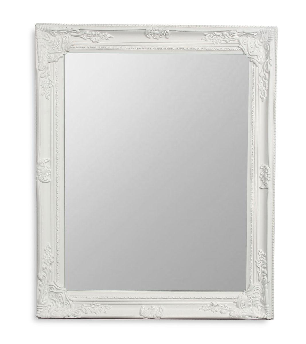 Spiegel Wandspiegel Flurspiegel Weiß Holz Vintage Barock shabby ...