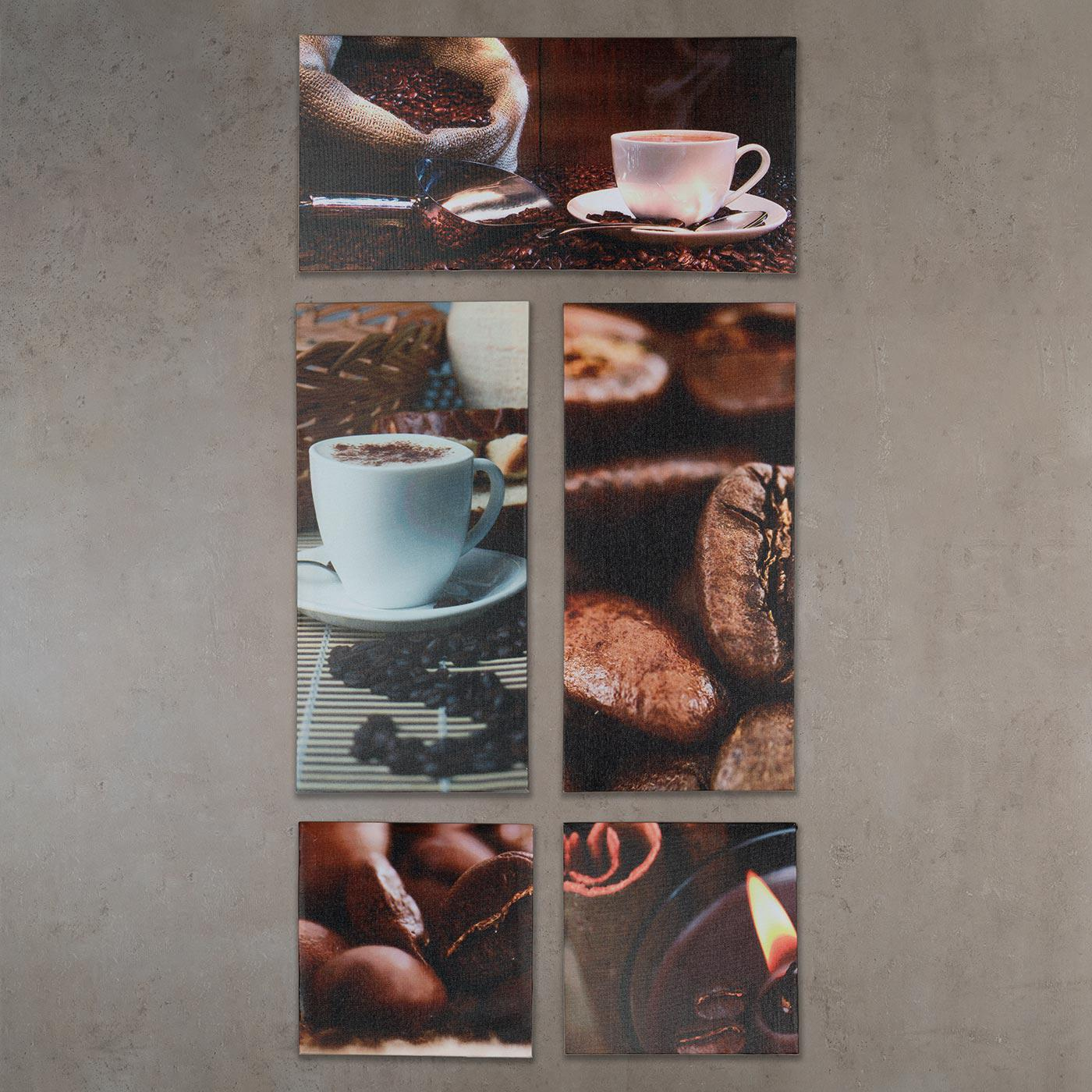 Entzuckend Good Cheap Affordable Wandbild Er Set Xcm Leinwand Kaffee Cappuccino Kche  Deko Bild With Kaffee Bilder Auf Leinwand With Glasbilder Kche Kaffee With  ...