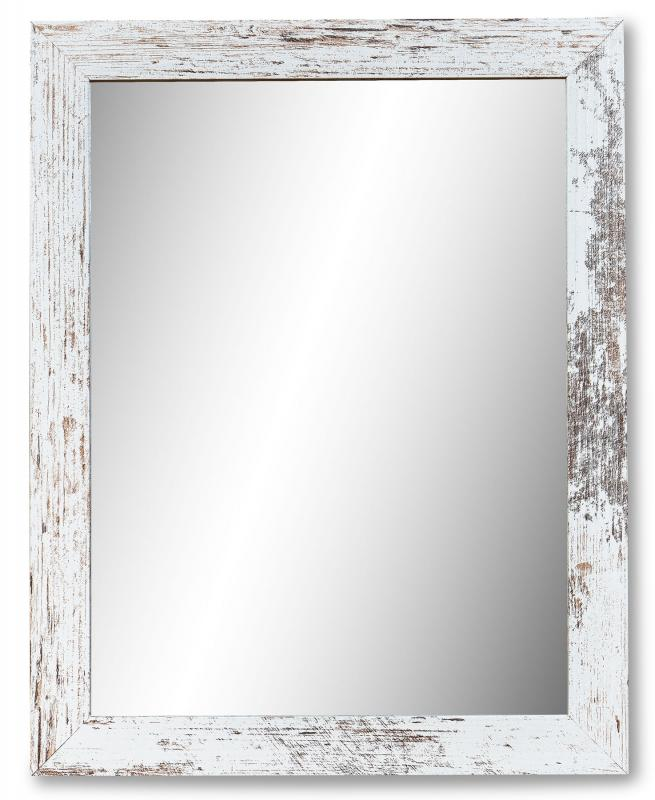 WOHNLING Wandspiegel MELI 80 cm Spiegel Kupfer Rahmen Wand Flurspiegel Modern