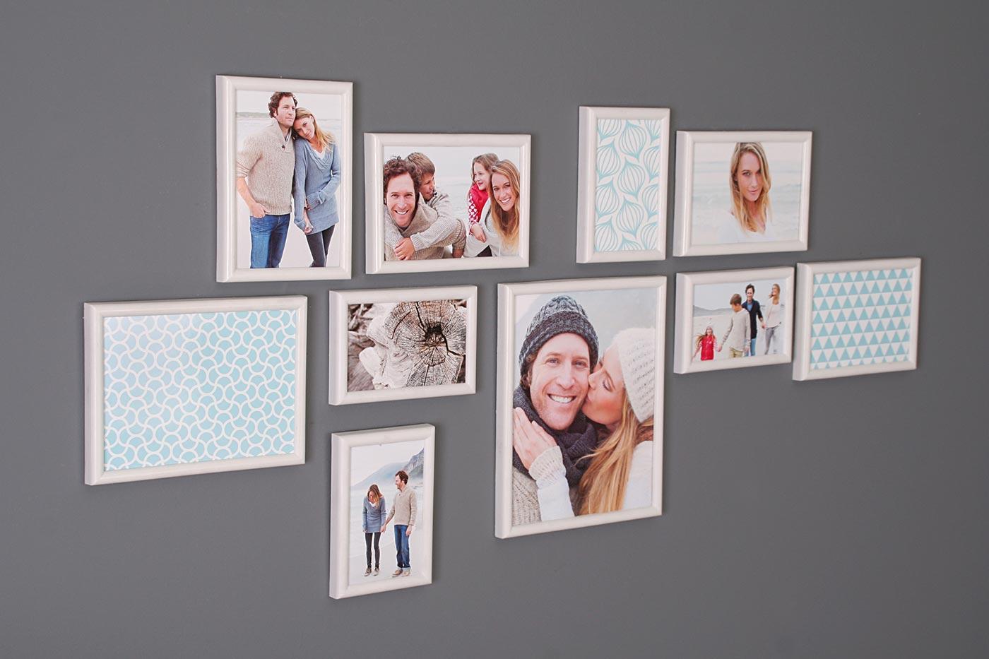 Bilderrahmen Fotobox 10 Stück Fotorahmen Collage Einzelrahmen Deko ...