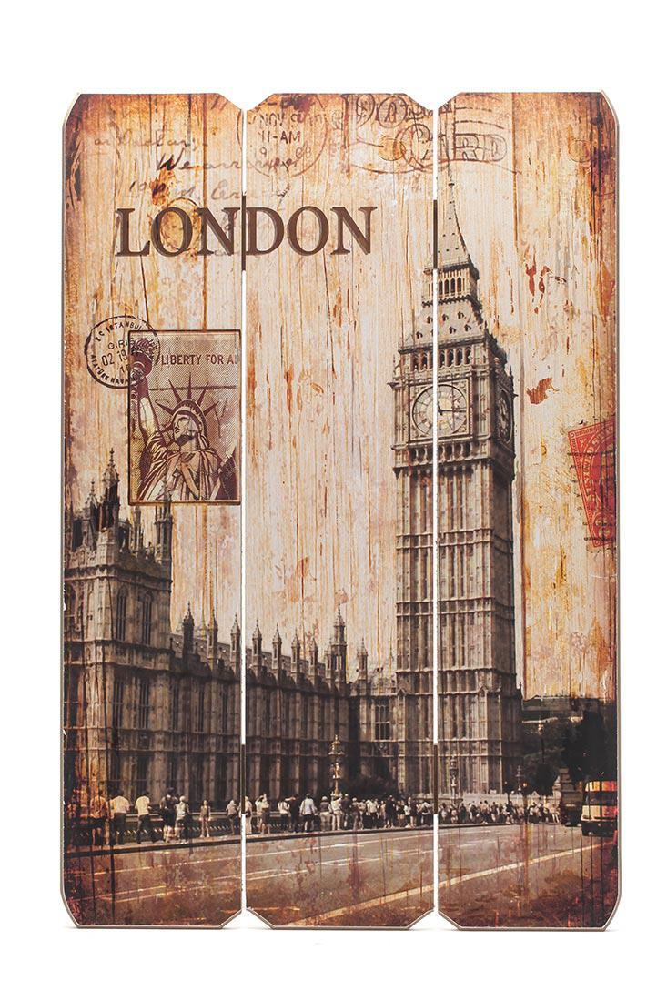 holzbild holzschild london bigben schild wandbild dekoschild vintage kaufen bei living by design. Black Bedroom Furniture Sets. Home Design Ideas