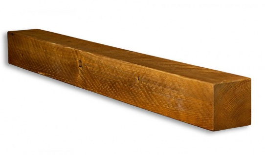 levandeo Wandregal Holz Massiv 100x10cm Teak Farbig Wandboard Regal Vintage Bord - Vorschau 2