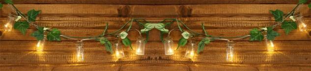 Lichterkette LED Kette Flaschenpost 10 Flaschen Glas Flaschenlicht Beleuchtung - Vorschau 4