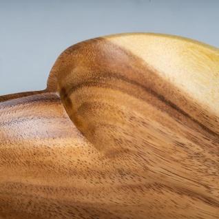 Schüssel Akazie 15x4cm Herz Holz Design Schale Obstschale Obstkorb Brotkorb - Vorschau 3