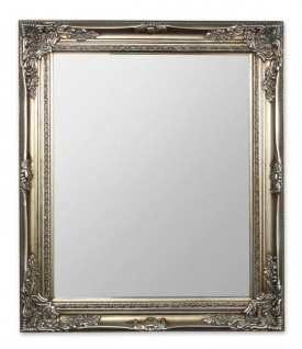 Spiegel Wandspiegel Flurspiegel Silber Holz Vintage Barock shabby - Vorschau 1